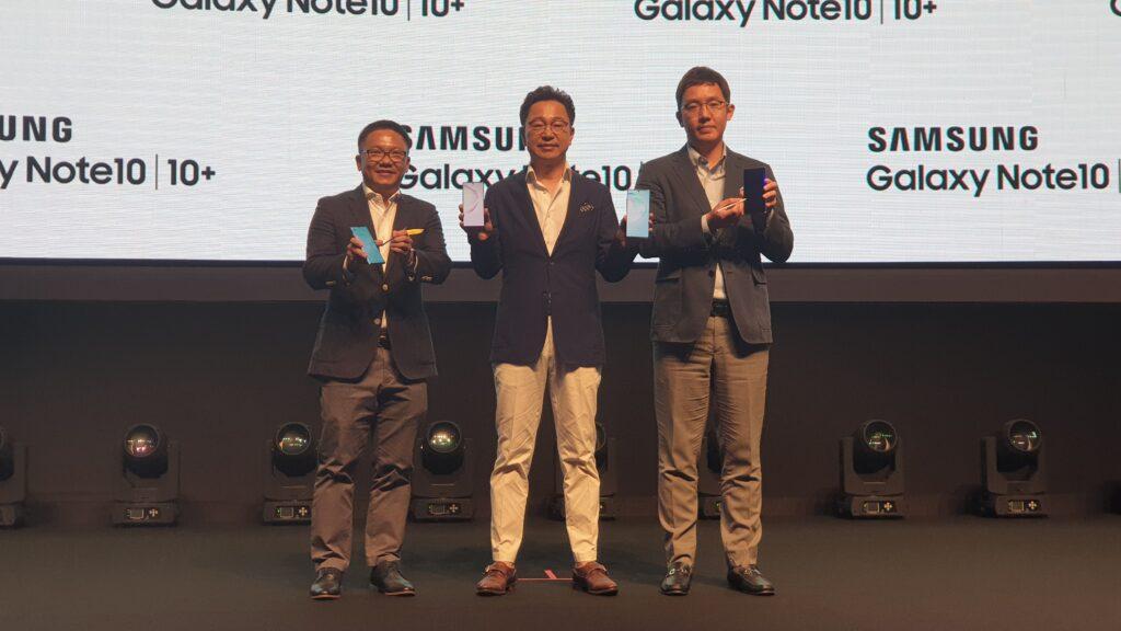 Galaxy Note 10 roadshow
