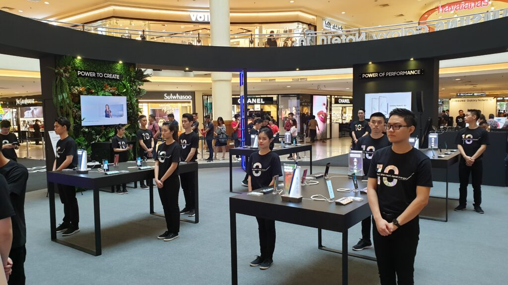 Galaxy note 10 roadshow