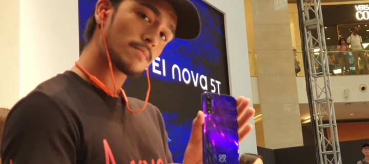 Huawei Nova 5T makes appearance at KLFW 2019