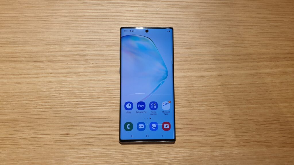 Galaxy Note10+ front