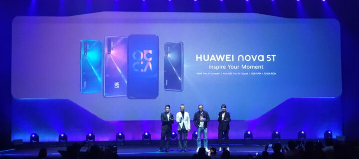 Huawei launches the stylish and powerful nova 5T in Malaysia for RM1,599