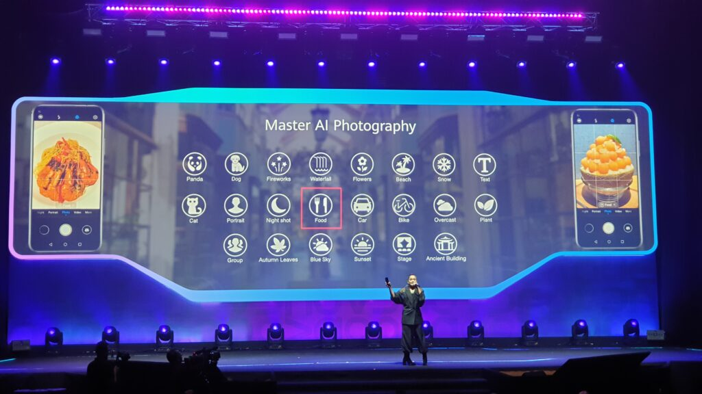 Huawei nova 5T camera modes