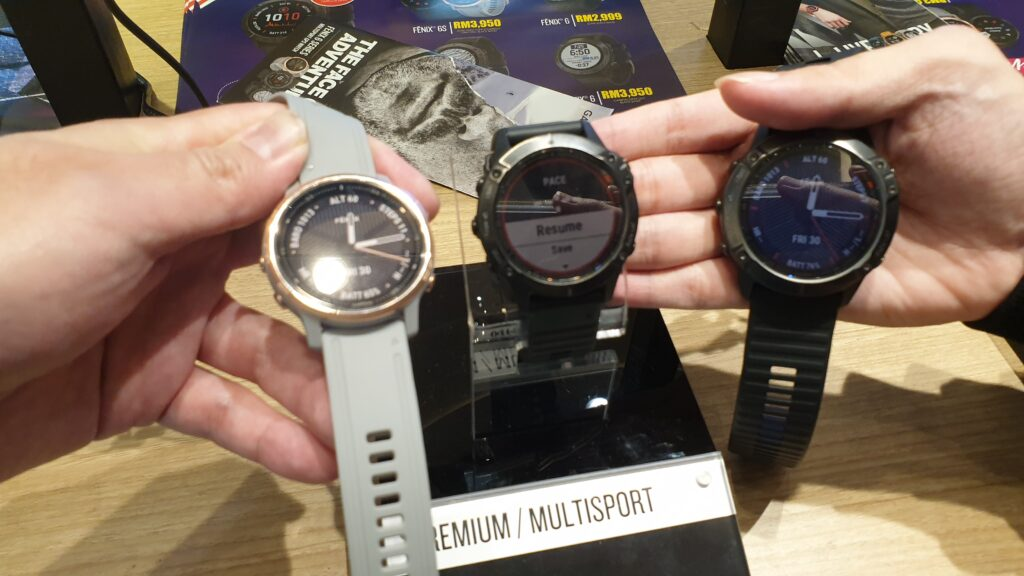 Garmin fenix 6, fenix 6S and fenix 6X