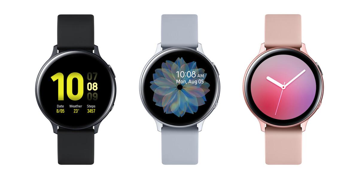 Galaxy Watch Active 2 aluminium