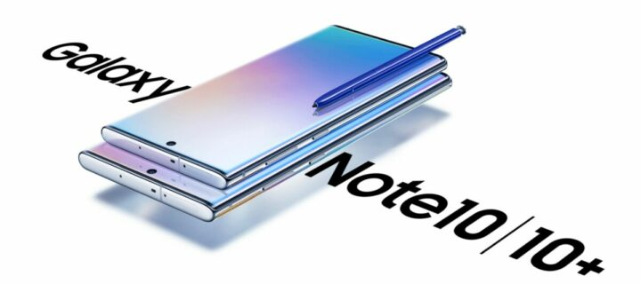 Samsung launches the new Galaxy Note10 and Note10+