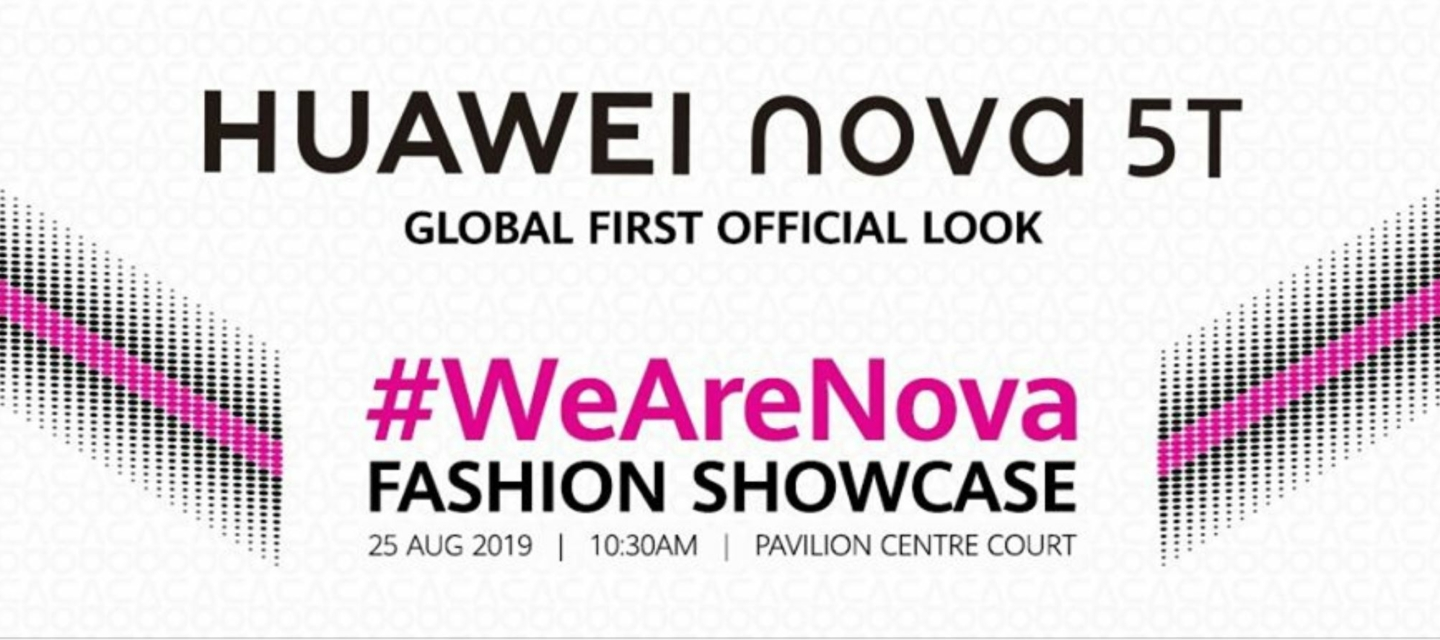 Huawei Nova 5t Slated To Appear At Klfw 2019 Gadgets
