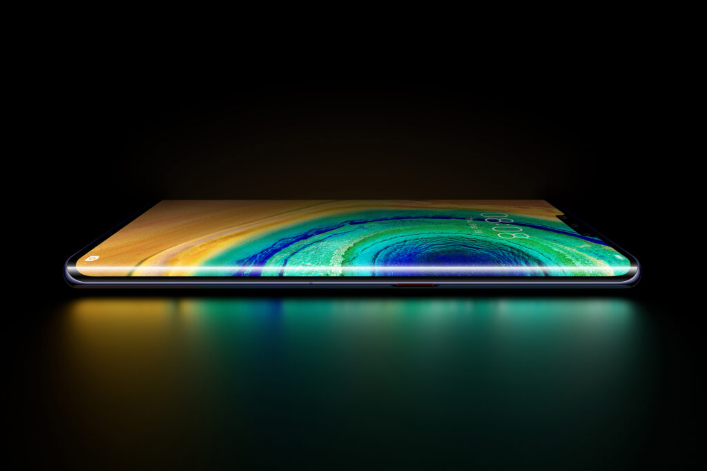 Huawei Mate30 horizon display
