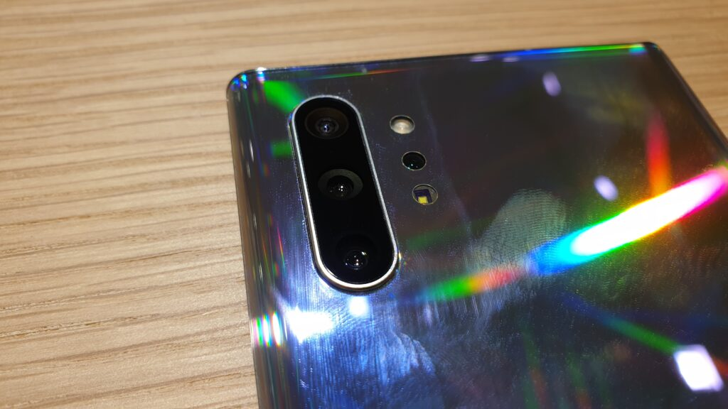 Galaxy Note10+ rear cameras