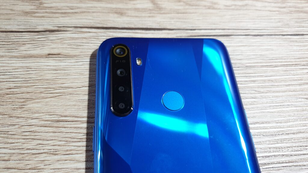 realme 5 rear camera closeup