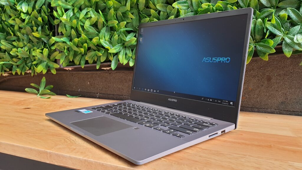 Asus ExpertBook P5440FA angled 2