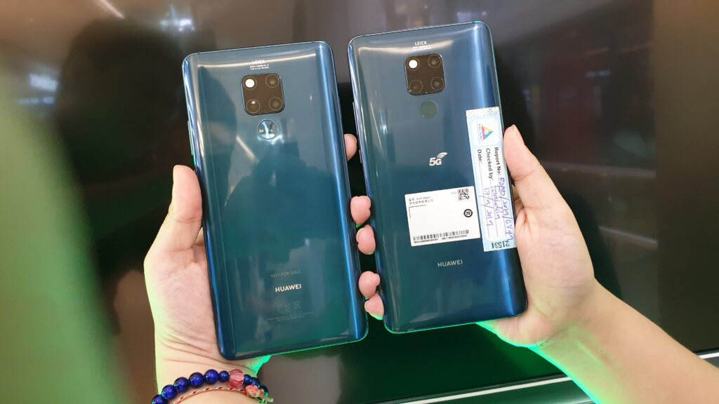 Huawei 5G Mate 20x and Mate20X 5G