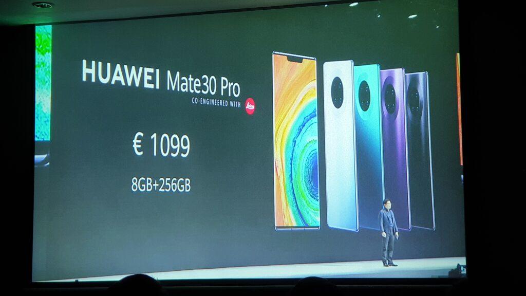 Mate30 Pro price