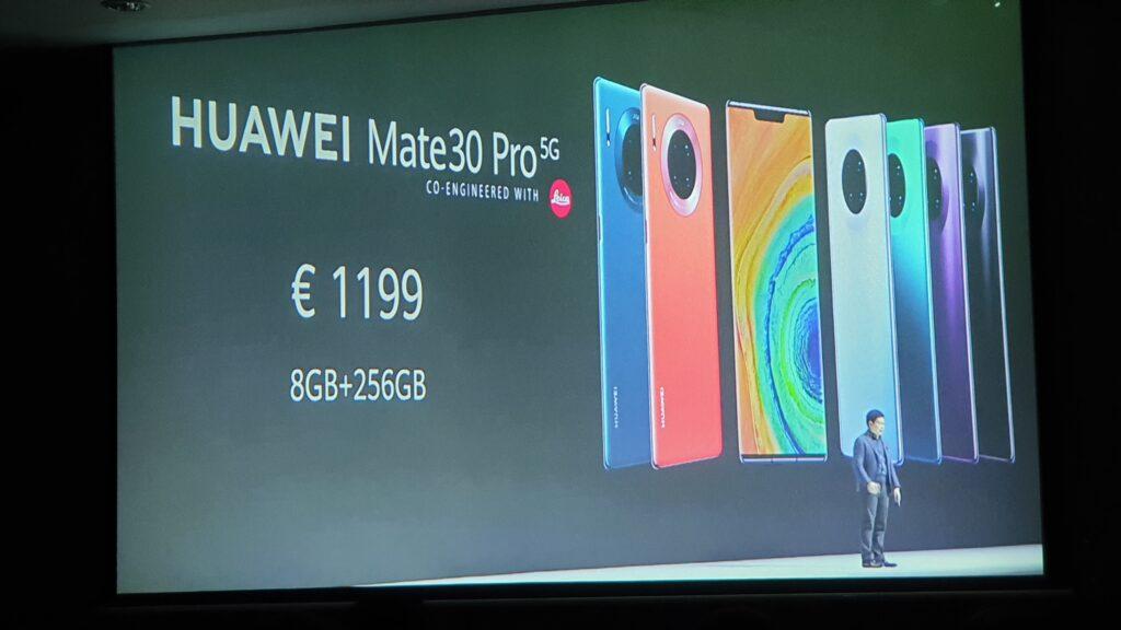 Mate30 Pro 5G price