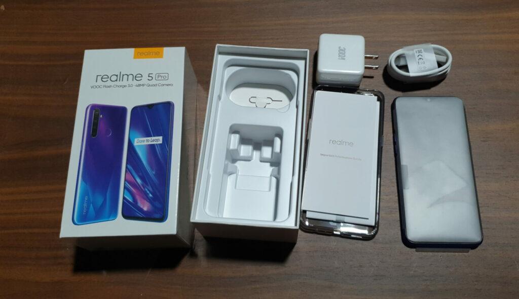Realme 5 Box