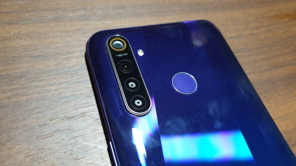 realme 5 pro rear camera