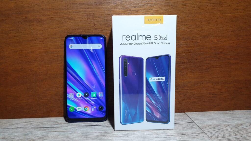 Realme 5 Pro box