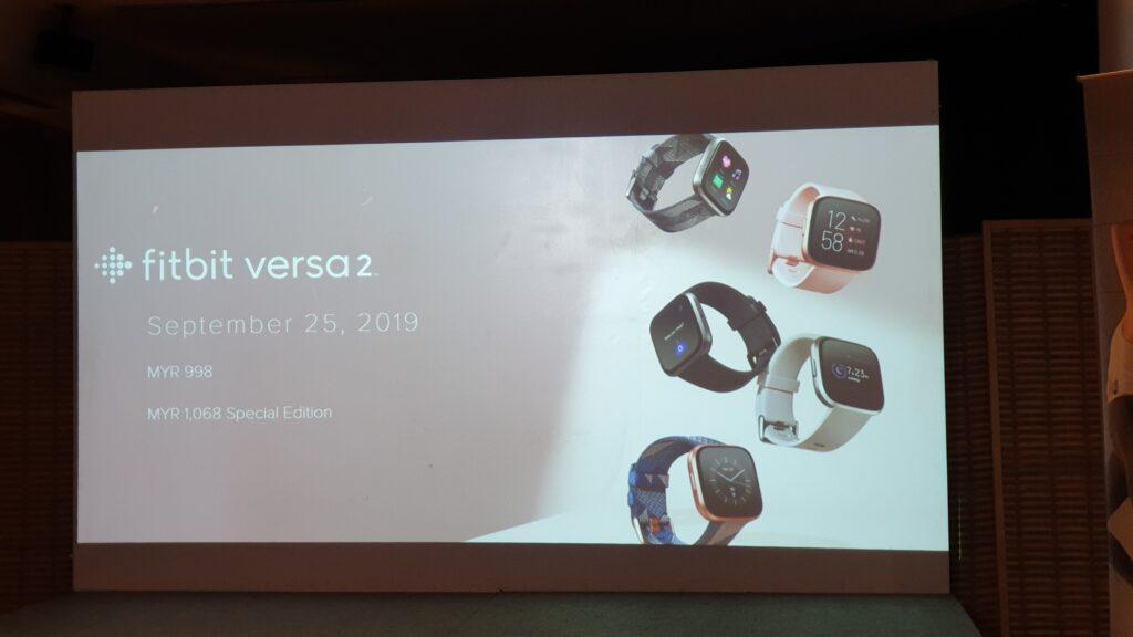 Fitbit versa 2 price