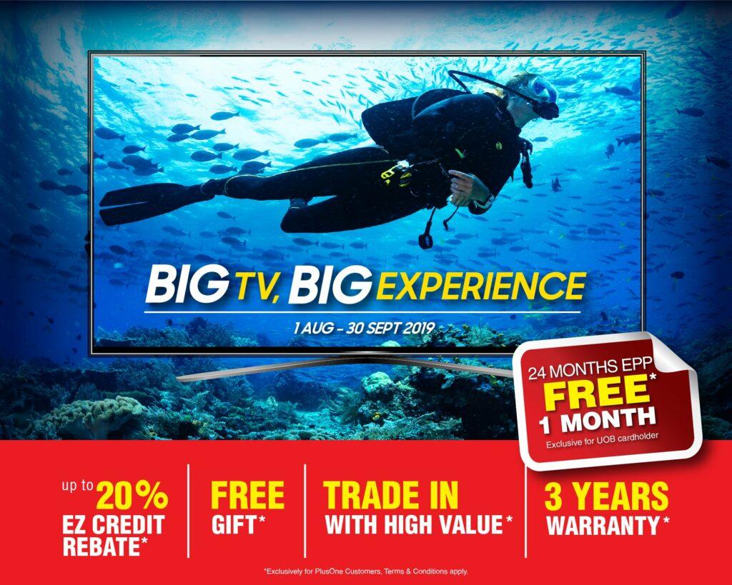 Big TV Big Experience poster