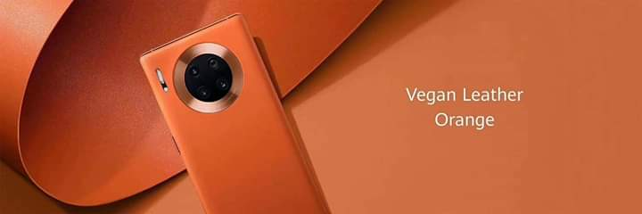 Mate30 Pro vegan orange