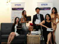 Epson debuts world's smallest EF-100 3LCD laser projector in Malaysia