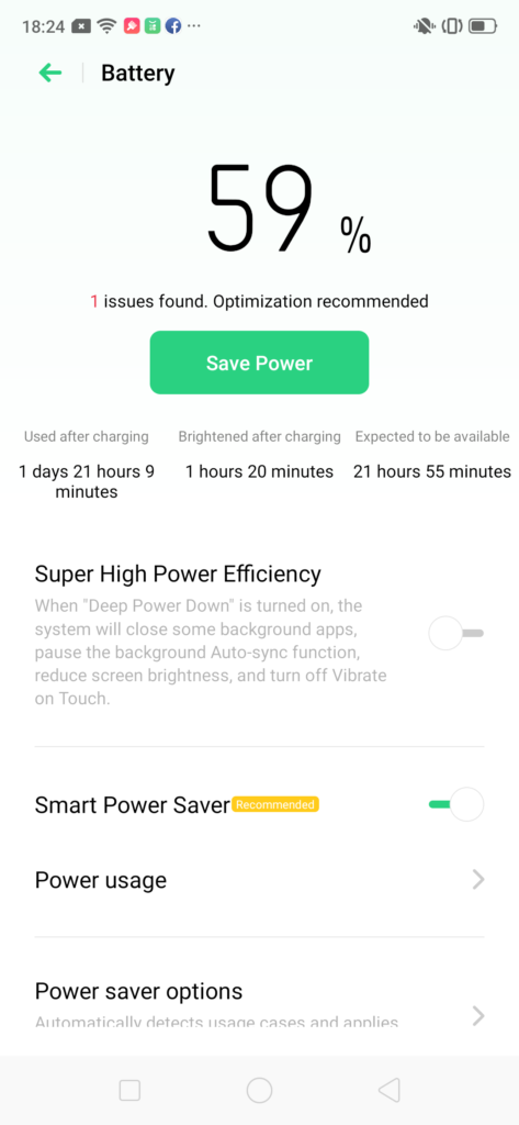 Realme 5 Pro battery life