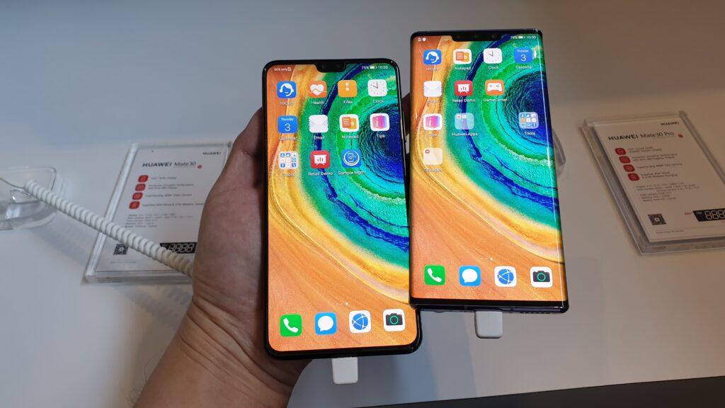 Mate 30 and Mate 30 Pro