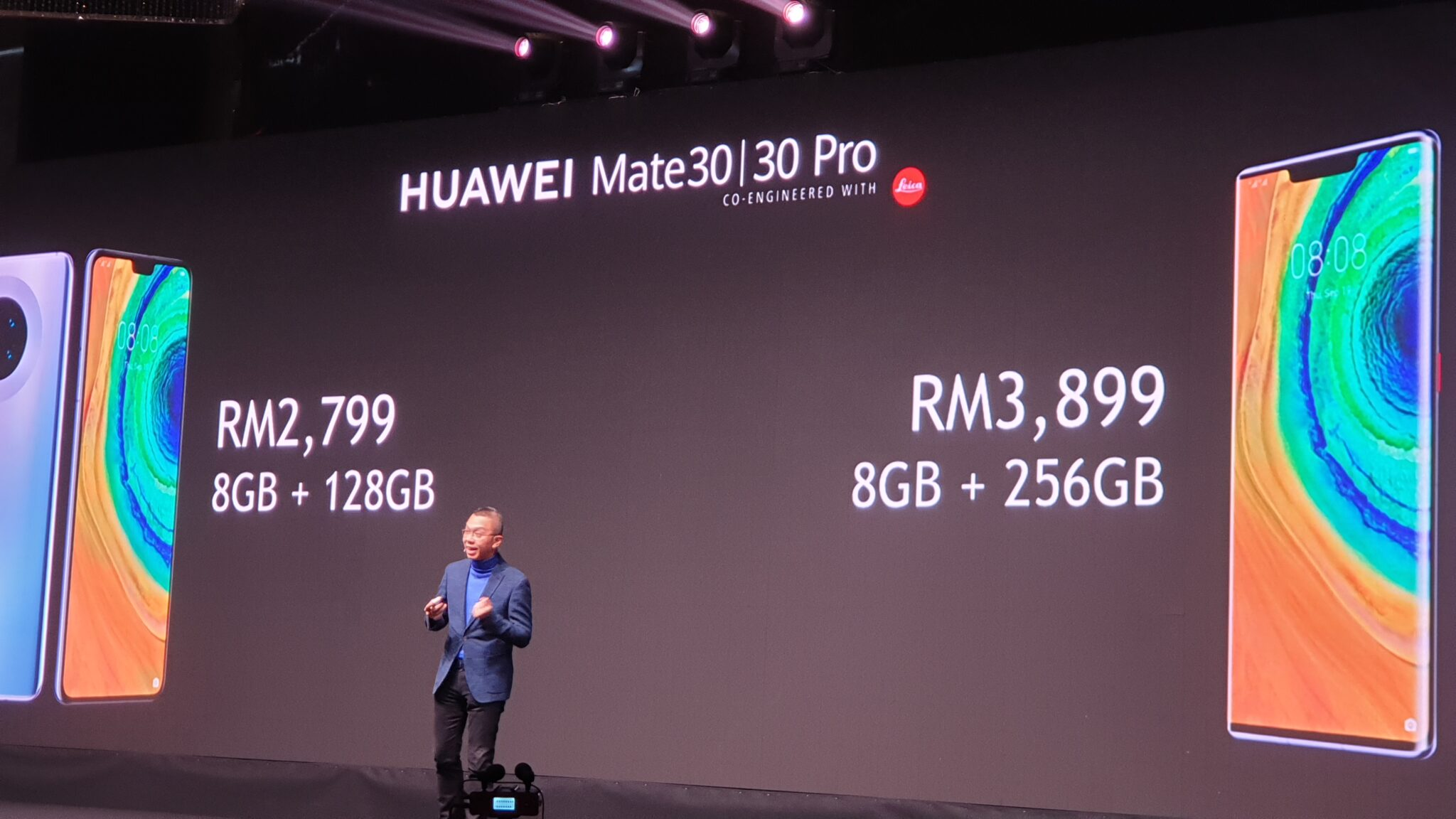 Huawei Mate 30 prices