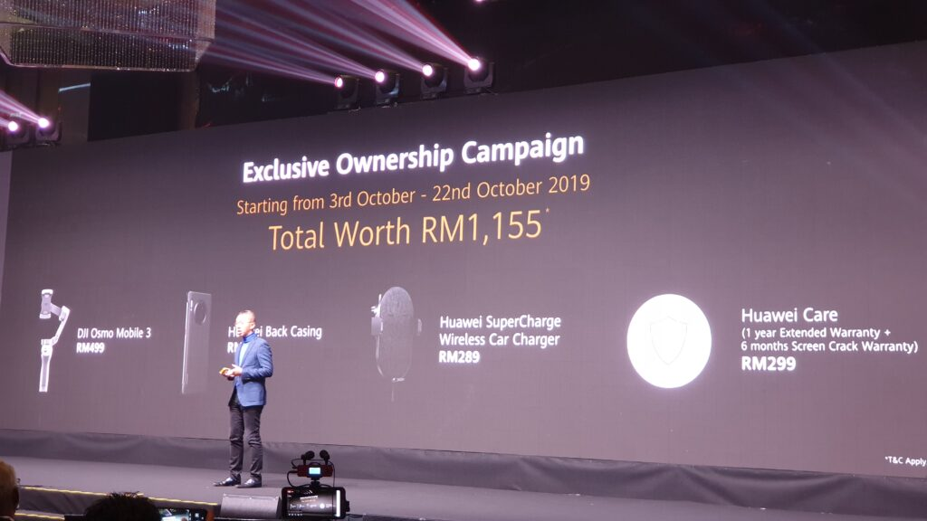 Huawei Mate 30 Exclusive Ownership camapgin