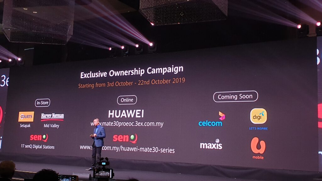 Huawei Mate 30 Exclusive Ownership