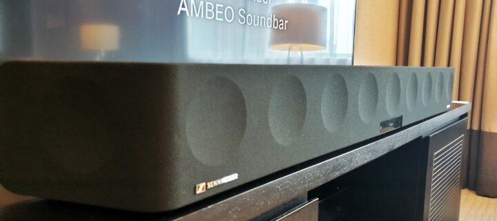 Sennheiser's Ambeo Soundbar brings massive Dolby Atmos sound straight into your living room