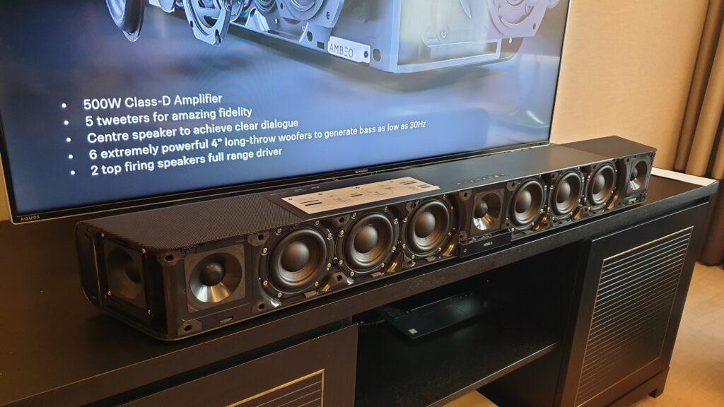 Ambeo Soundbar speakers