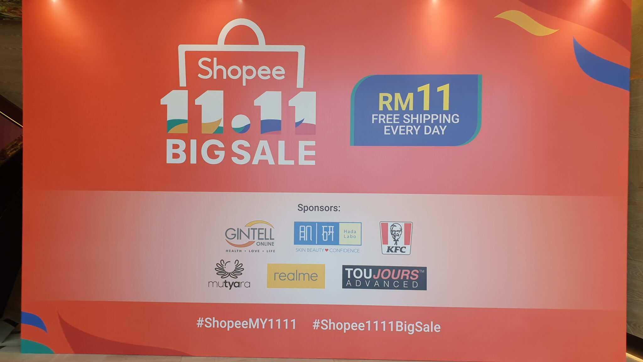 11.11 Big Sale Shopee