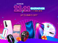 HONOR 11.11 Shopathon deals will offer HONOR 20 at a low RM1,299 with a free HONOR Band 5 Sport