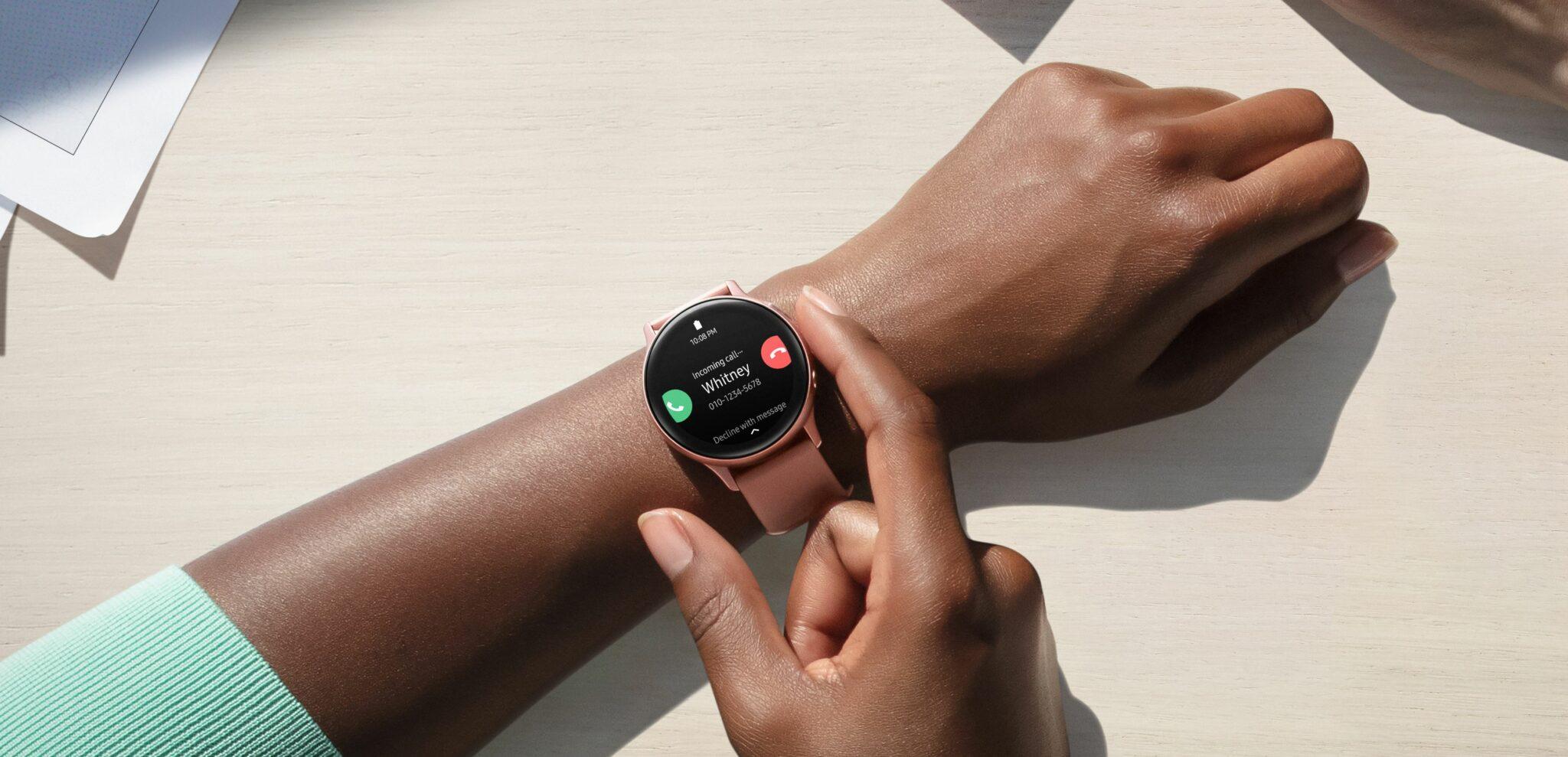Galaxy Watch Active 2 wrist 2