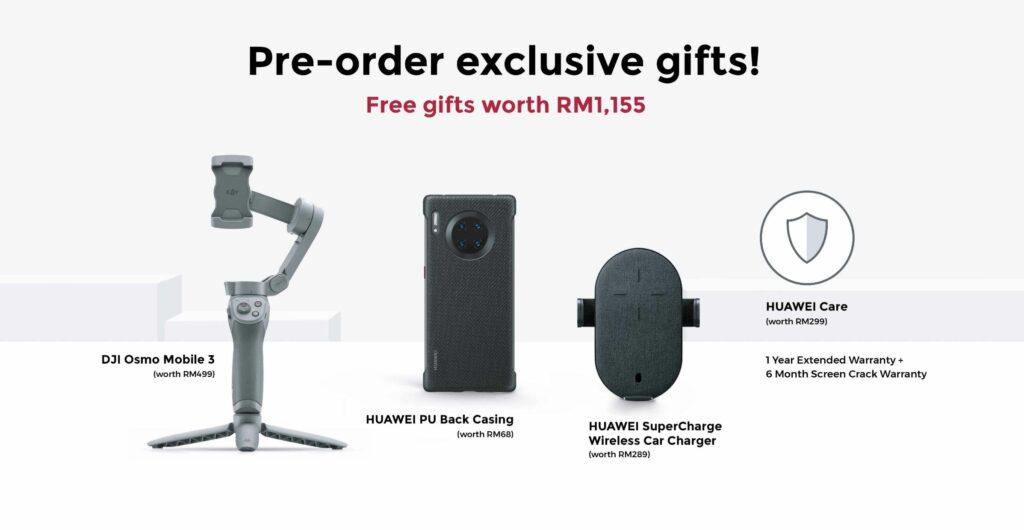 Huawei Mate 30 Pro Free Gifts