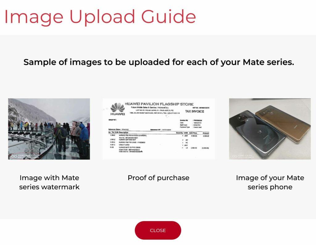 Huawei Mate 30 Pro evidence