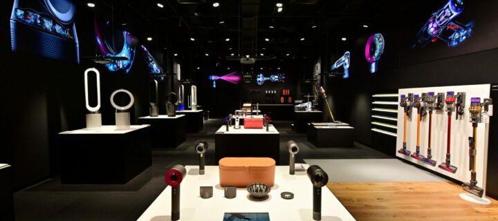 Dyson Demo store opens up at Midvalley Southkey in Johor Bahru