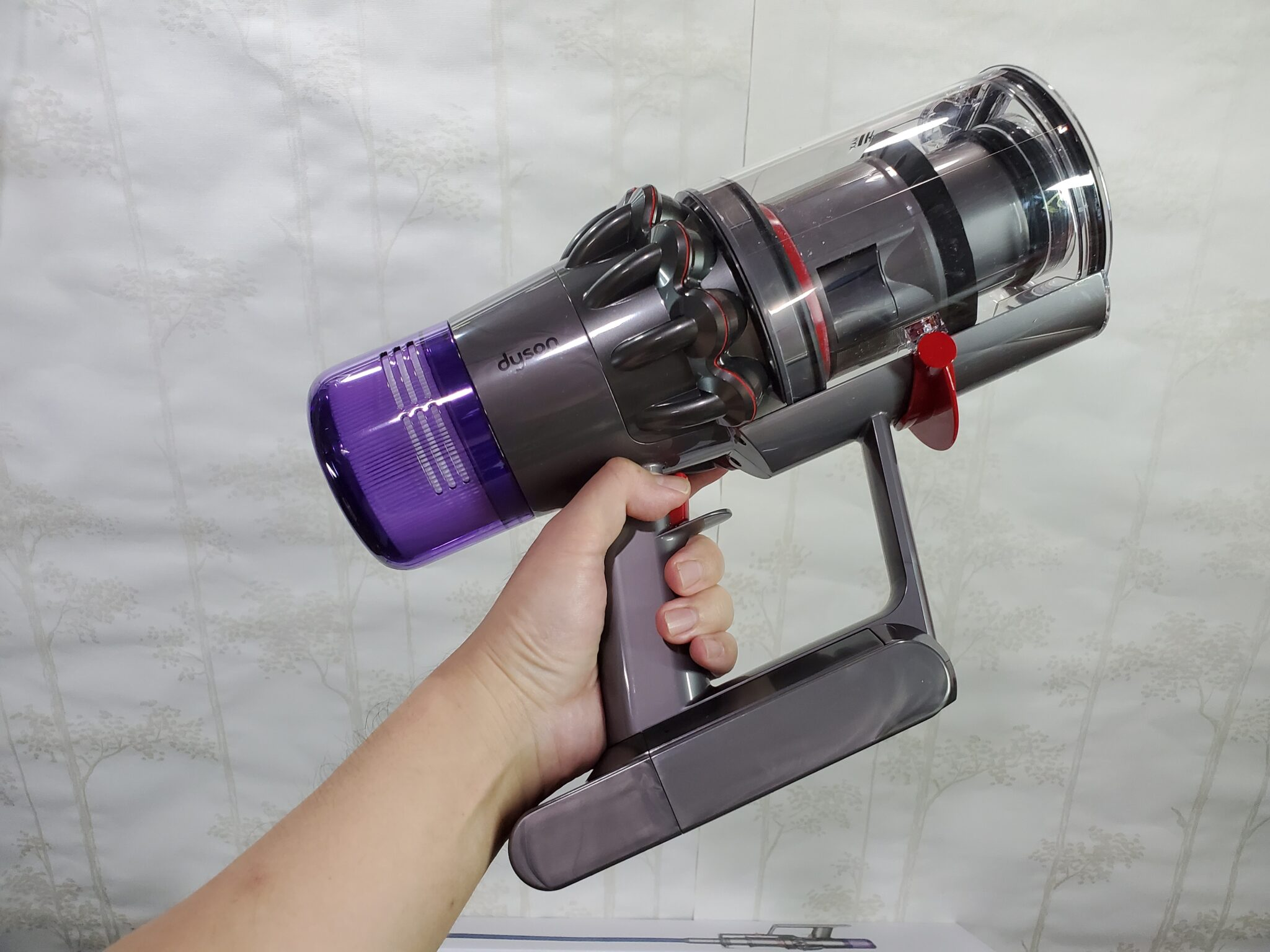 Dyson V11 absolute side