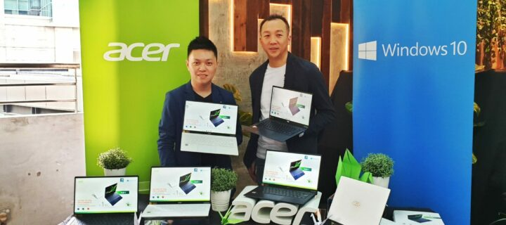 Acer Swift 5 ultraportable weighs just 990g and costs from RM3,699