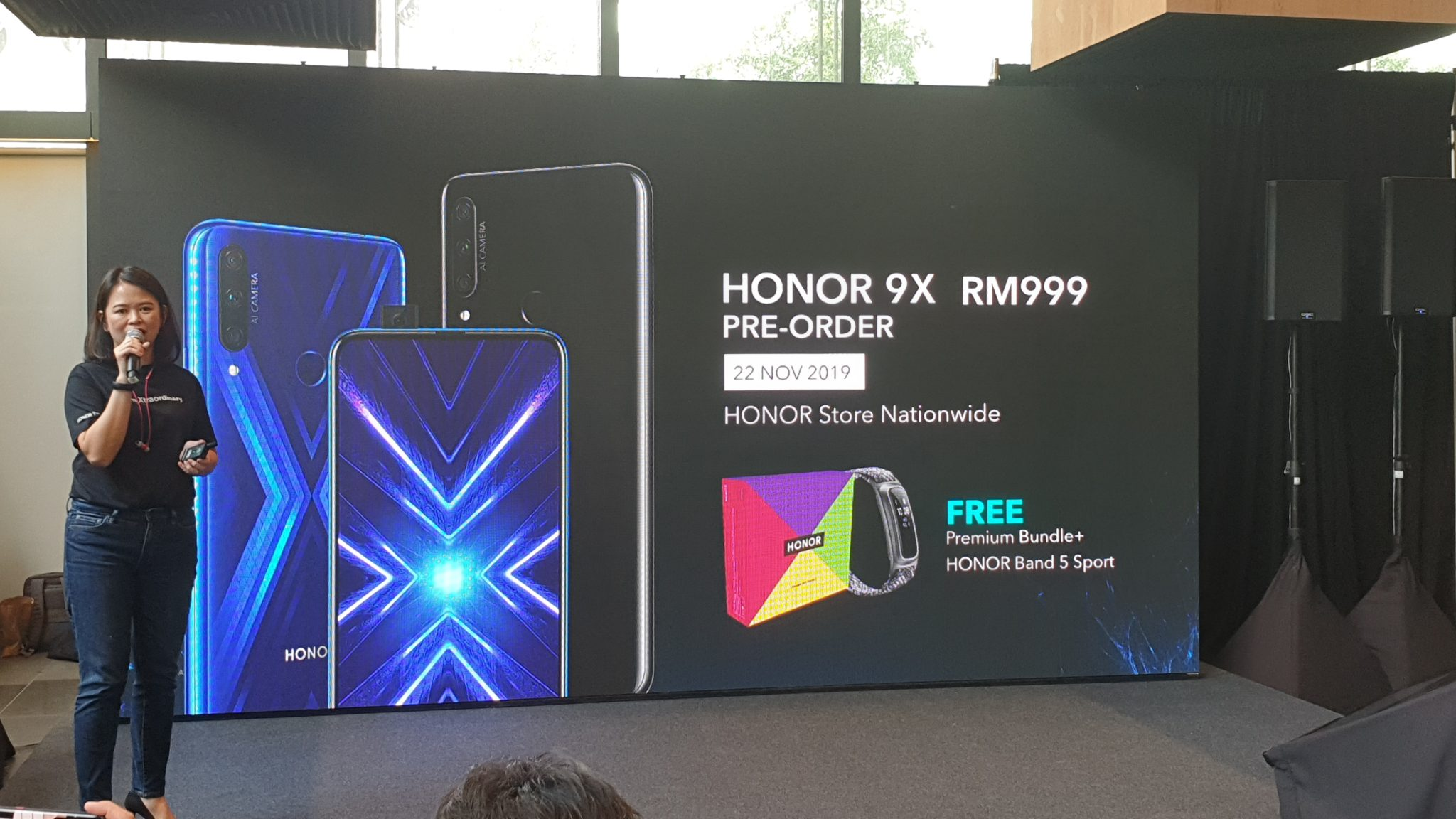 Honor 9x preorder