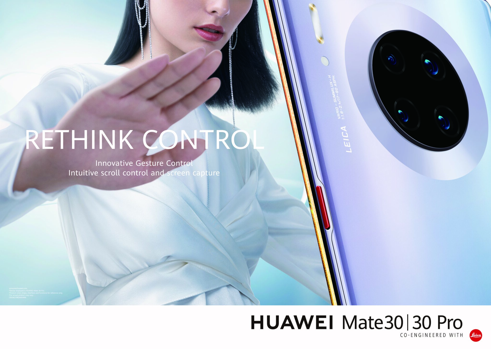 Huawei Smart Life with Air Gestures on Mate30 Pro