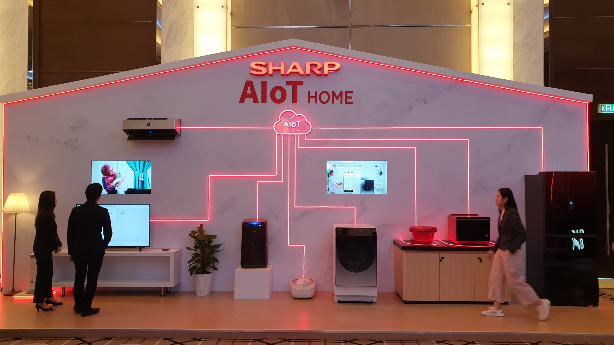 Sharp Smart Connected 2020 Conference home solutions