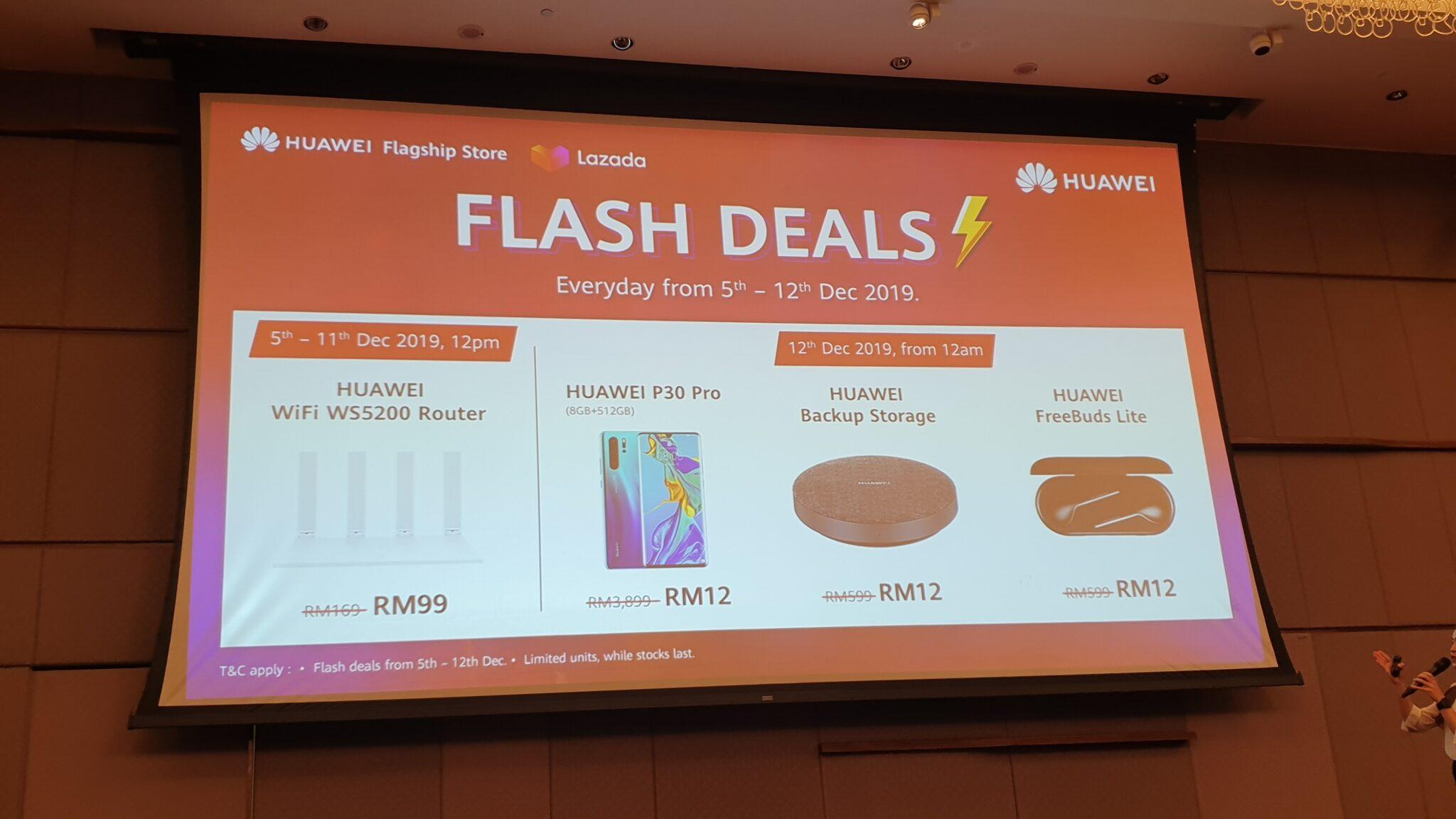 Huawei Flash Deals