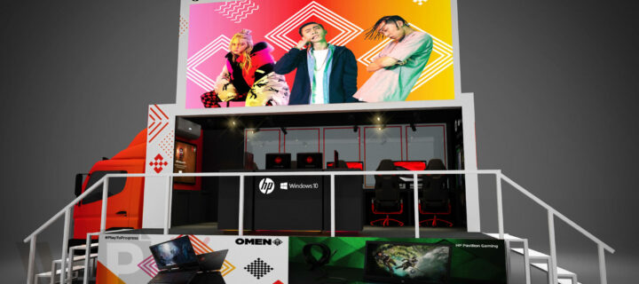 HP OMEN Ranger mobile gaming truck lets you see their latest gaming rigs and win prizes too
