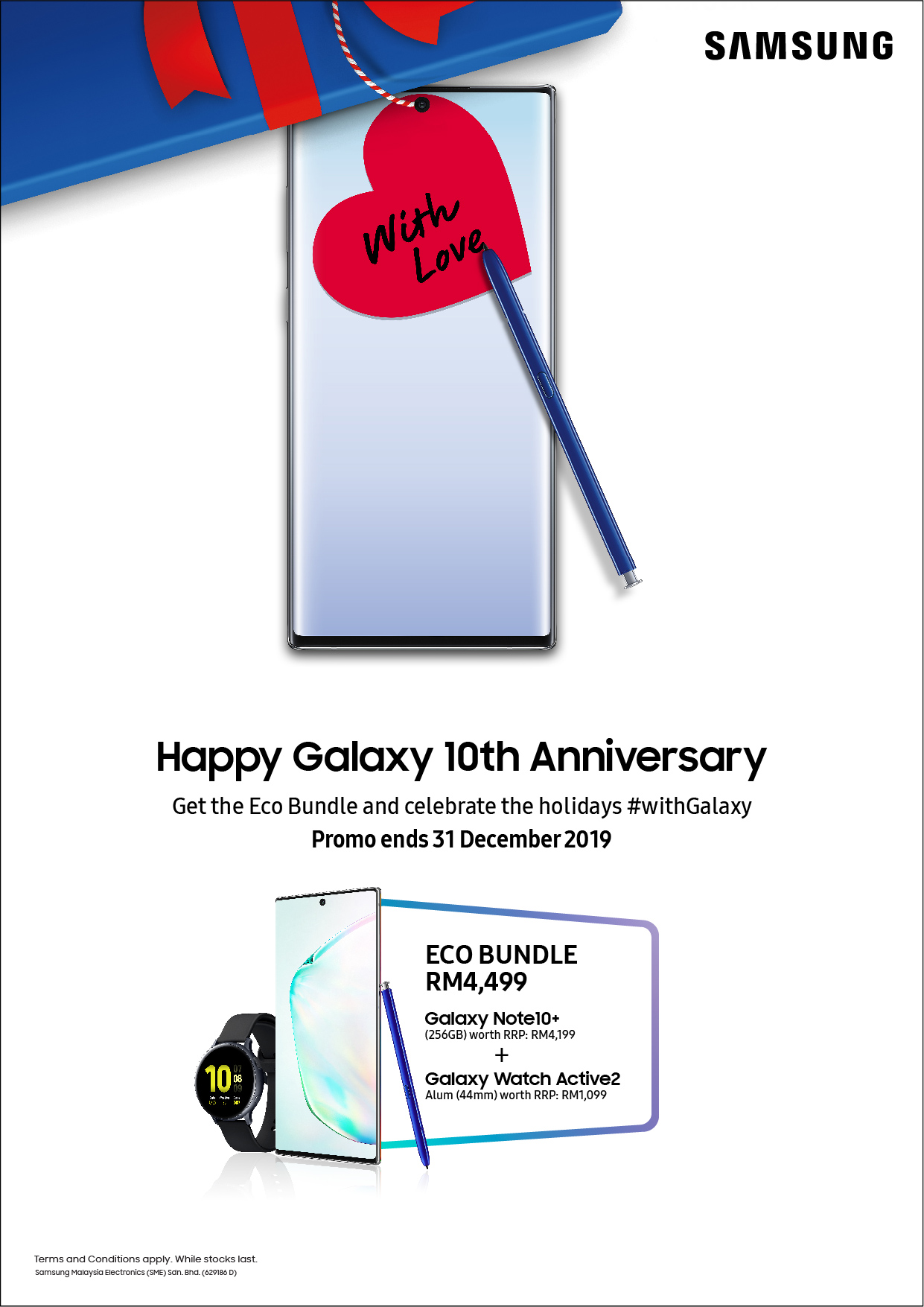 Samsung Galaxy 10th Anniversary_Premium Bundle