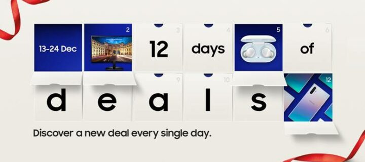Samsung Advent Calendar Promises Glorious Deals on phones, wearables and more