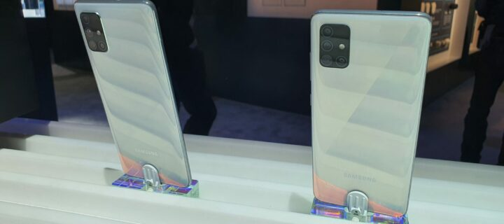 Samsung Galaxy A51 and A71 hands-on at CES 2020