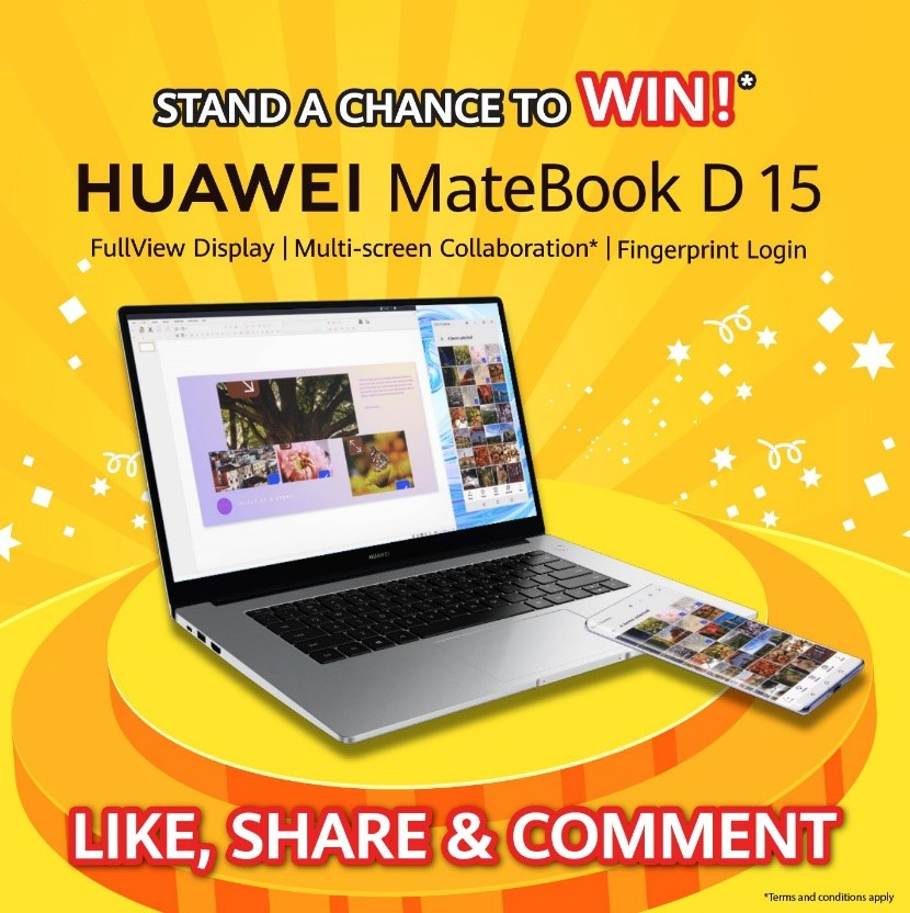 MateBook D 15 competition