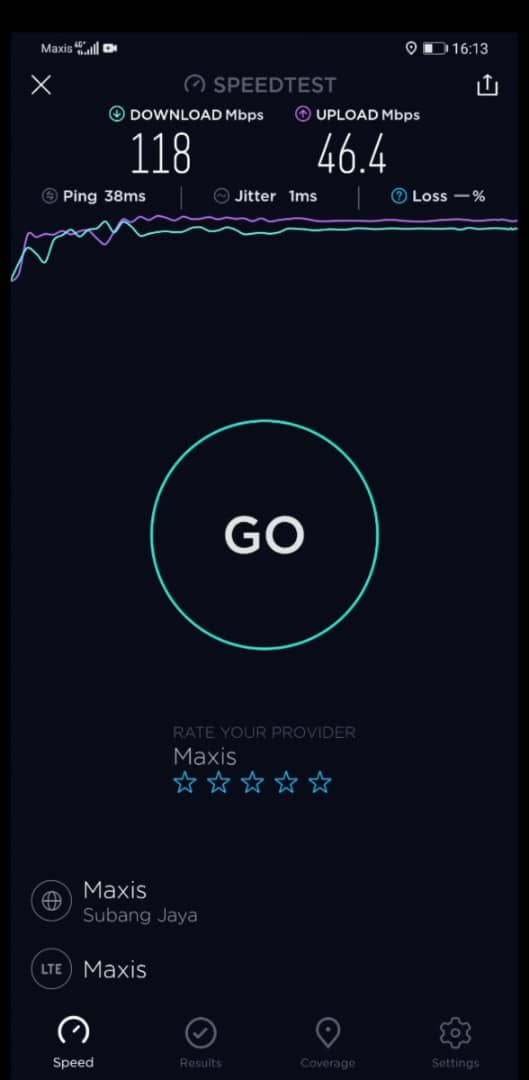 Mate30 Pro 4G speeds