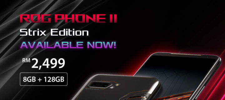 ASUS ROG Phone 2 Strix Edition coming to Malaysia at RM2,499